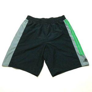 Adidas 3 Stripe Basketball Gym Casual Shorts